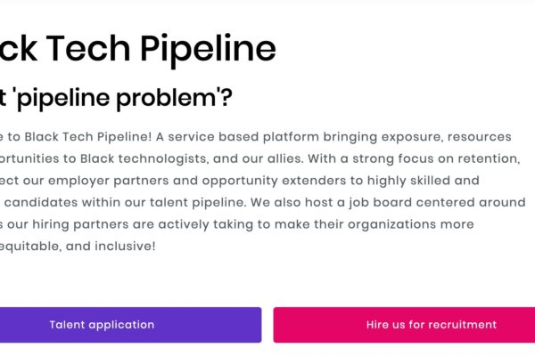 black tech pipeline