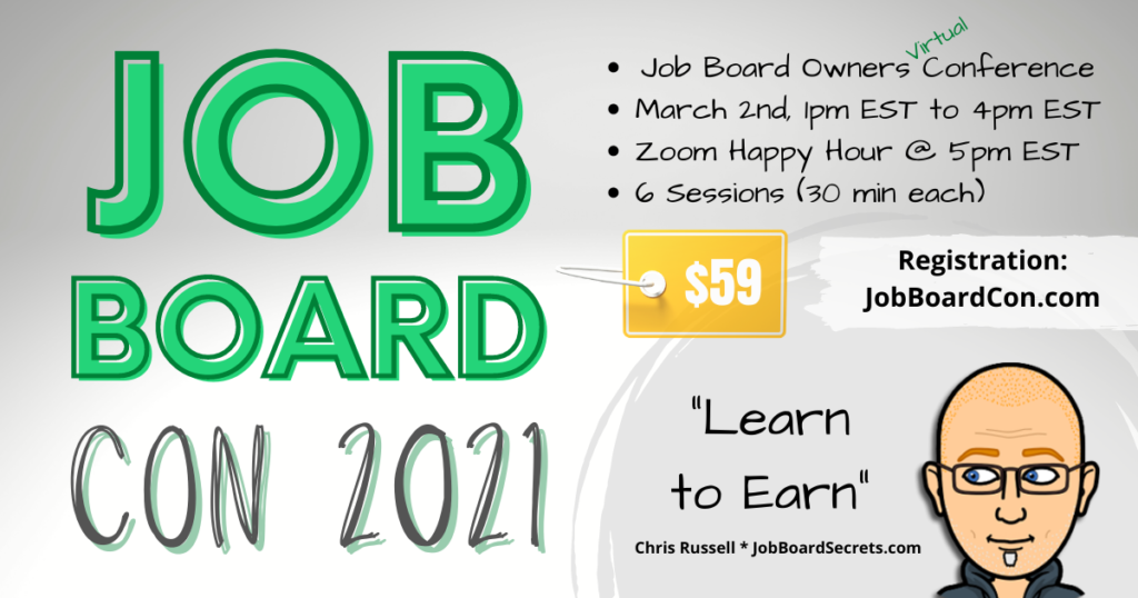 Job Board Con Set for March 2nd