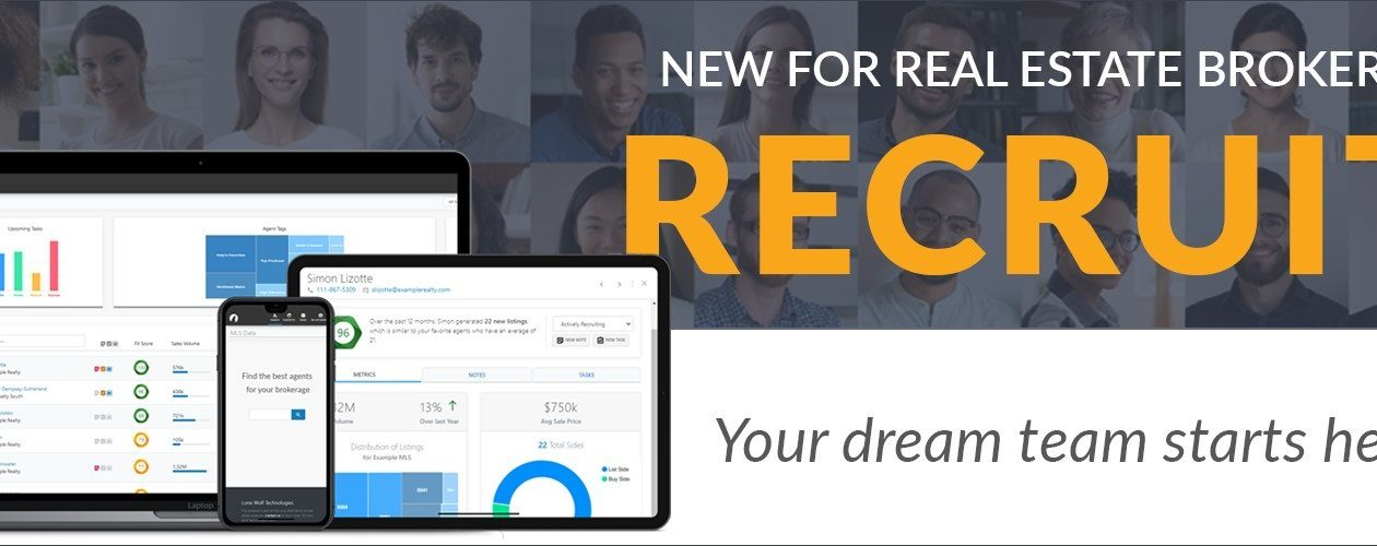 Recruit real estate software
